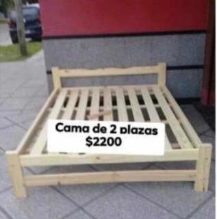 Cama De Pino 130x190