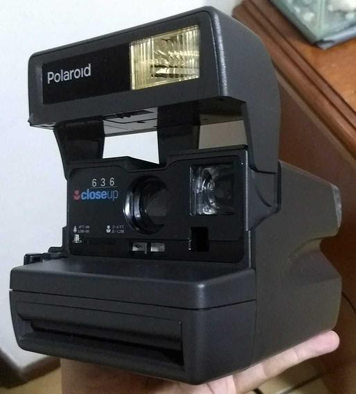 Câmera Fotográfica Polaroid 636 Com Sacola Térmica Original