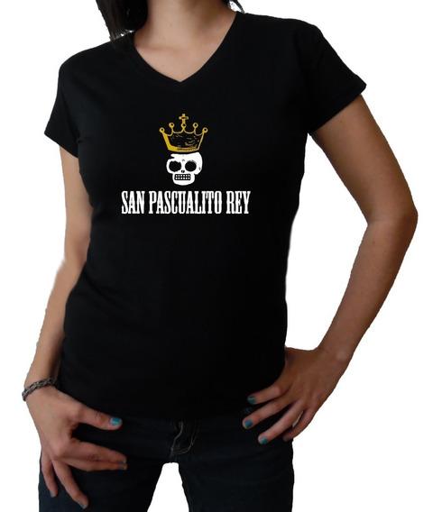 San Pascualito Rey Playera Spr Mod2 -envio Gratis
