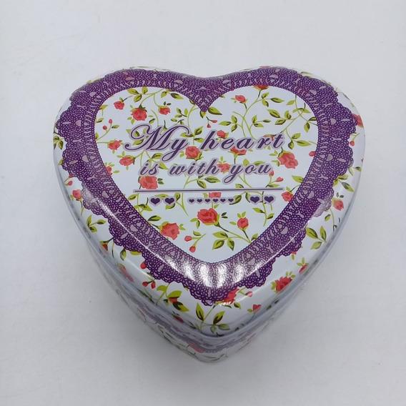 Latas-alhajeros Con Forma De Corazón Set X3 Serbazares