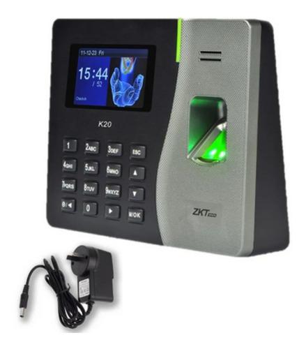 Imagen 1 de 10 de Reloj K20 Control Acceso Personal  Huellas Tarjetas K20c