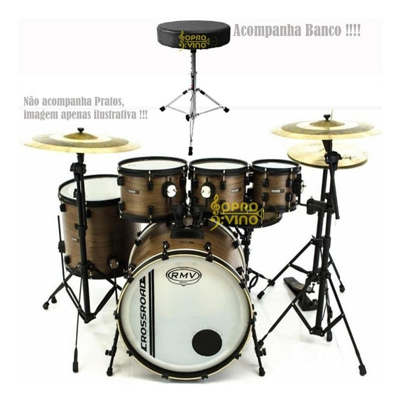 Bateria Rmv Cross Road Fiber Wood 20 ,8 ,10 ,12 ,14 + Banco
