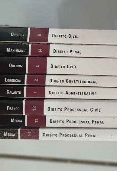 Lote De 8 Livros De Direito Concursos / Oab