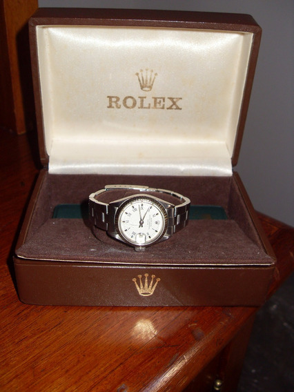 Rolex Oyster Perpetual Date Lady Aço-ouro Branco 1973