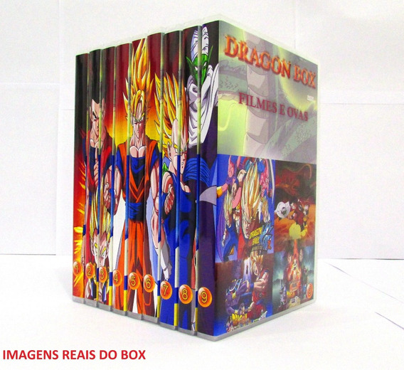 Dragon Ball Z Box Todas As Sagas Completo+filmes +saga Super