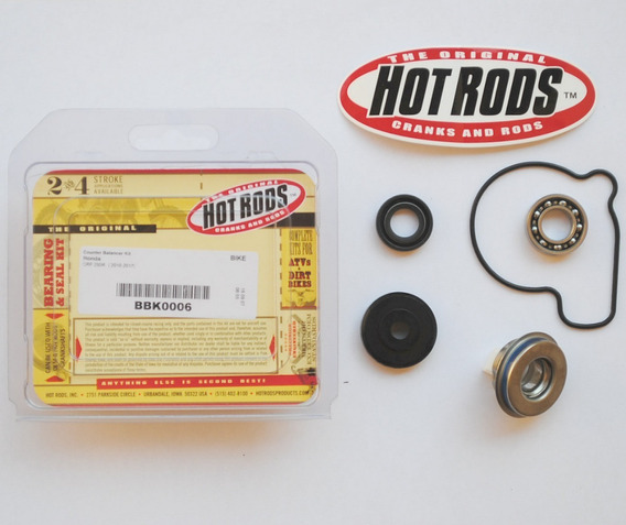 Kit Reparo Da Bomba D´água C/ Selo Mecânico Hot Rods Crf250r 2010-2015 Crf 250r 250 R