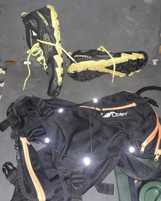 Combo Para Trail, Zapatos Merrell All Out Terra Trail+camell