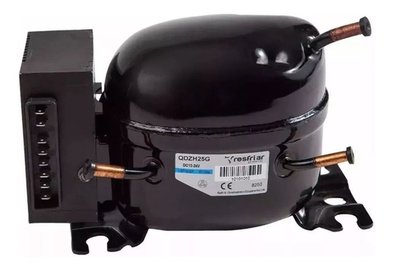 Compressor C/unidade Eletrônica Para Geladeira Resfriar 67 L