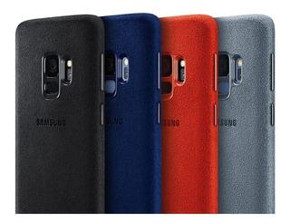 Funda Rigida Protector Samsung Alcantara S9 Plus S9 Original