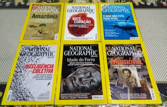 Revista National Geographic - Lote Com 8 Edições (2007)