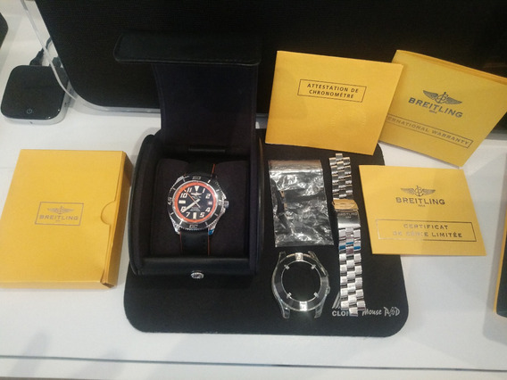 Breitling Superocean Abyss 42 Limited Edition - 2 Pulseiras