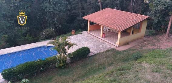 Excelente Chácara Com 5000 M²,02 Suítes,campo Limpo Paulista-piscina,salão De Festas-oportunidade - Ch0031