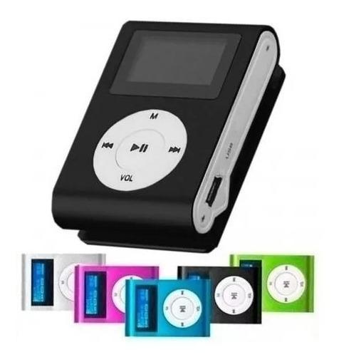 Mini Mp3 Player Radio Fm Visor Lcd Entrada Micro Sd