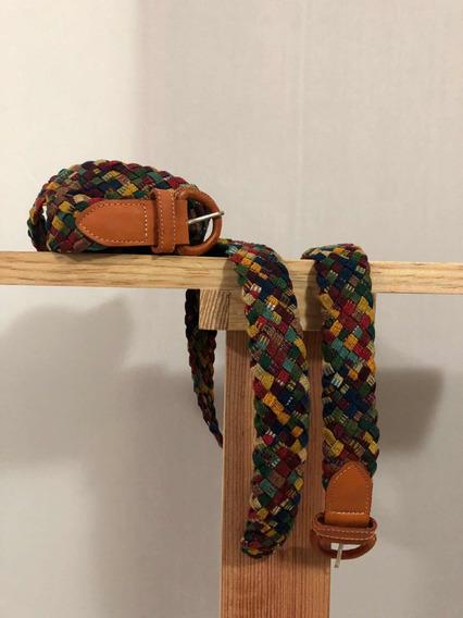 Lote 6 Cinturones Artesanales De Tela Mayoreo Mujer Tejido