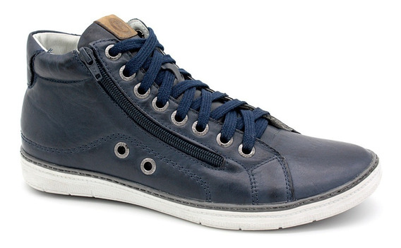 Sapato Sapatênis Botinha Masculino Casual Bmbrasil 901/07