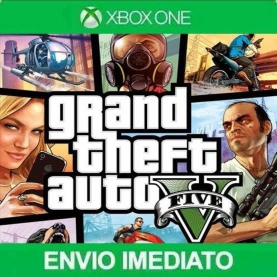 Gta V - Xbox One - Envio Imediato