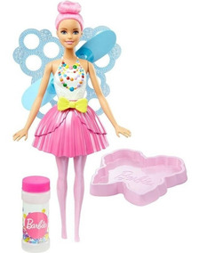 Boneca Barbie Dreamtopia - Fada Bolhas Mágicas Dvm95