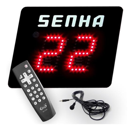 Visor De Senha Sequencial E Aleatoria Digital 2 Em 1 (ir)