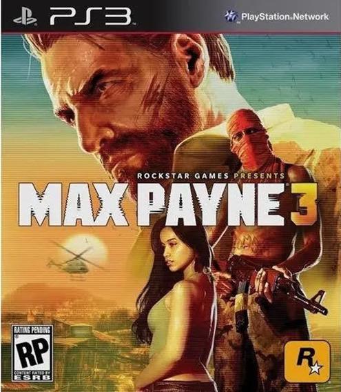 Max Payne 3 Ps3 Legendas Português Pt Br