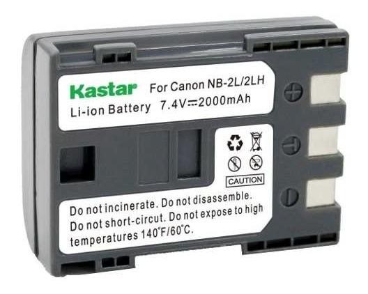 132 Bateria Nb 2lh Para Camaras Canon Eos 350d 400d Xt Xti