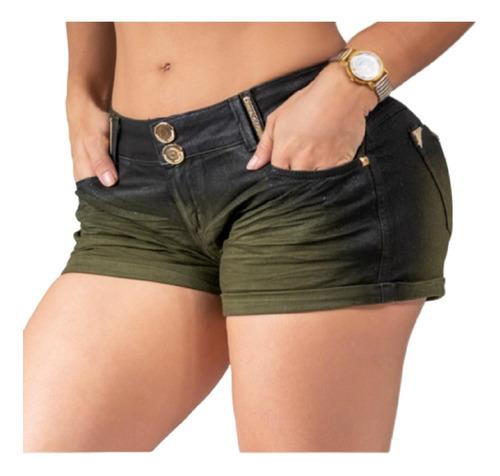 Lindo Short Collor Feminino Pit Bull Jeans Original