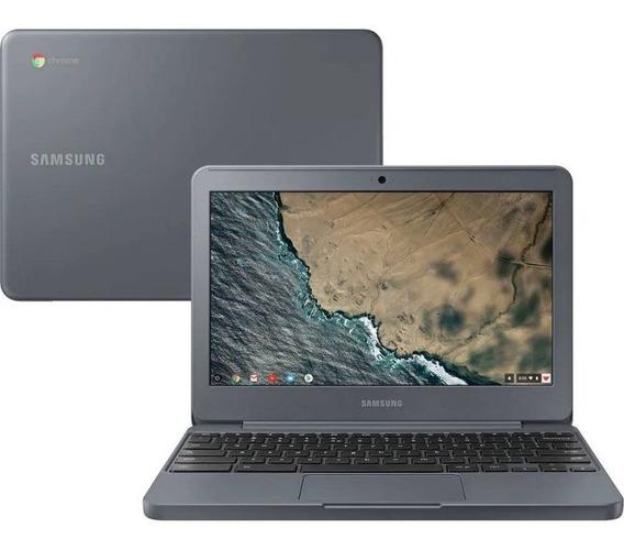 Chromebook Samsung 11,6 Intel Celeron 4gb Ram 16gb Grafite