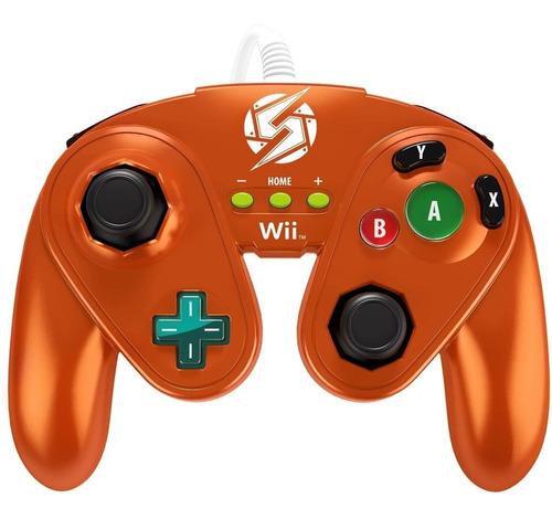 Pdp Wired Lucha Almohadilla Para Wii U - Samus