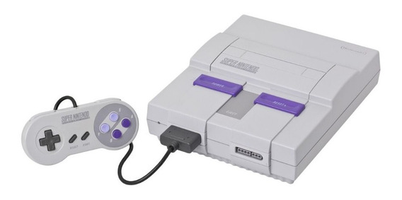 Nintendo Super NES Standard cinza