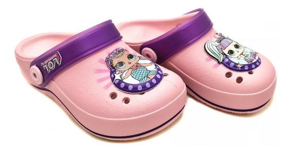 Babuche Infantil Menina Grendene Minnie,lol,barbie Crocs