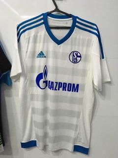 Camisa Schalke 04, Tamanho M, adidas