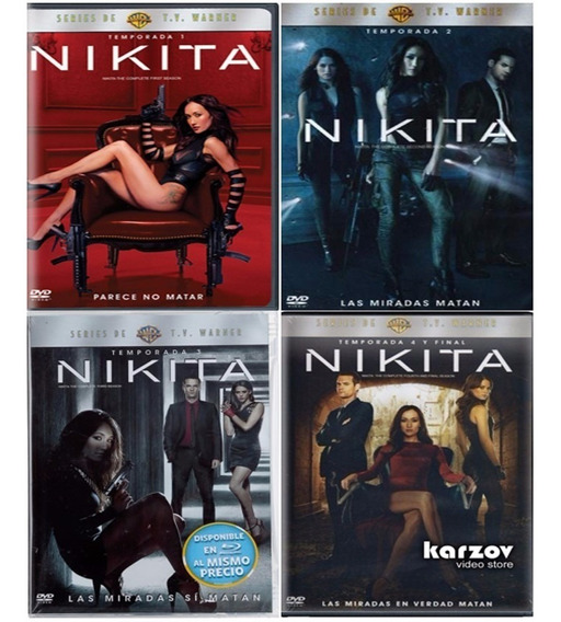 La Femme Nikita  La Serie Completa en Mercado Libre México