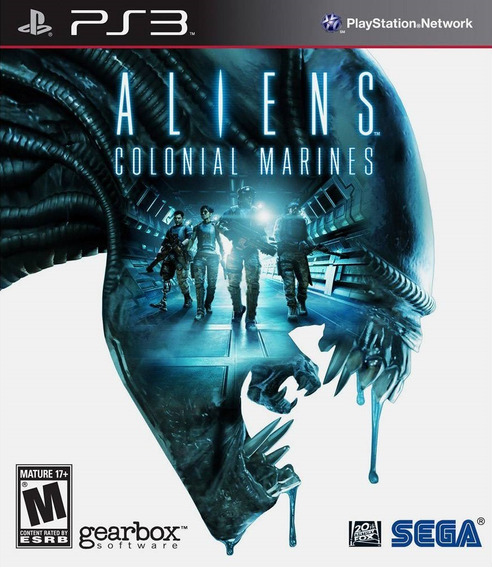 Jogo Aliens Colonial Marines Playstation 3 Ps3 Frete Grátis