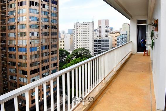 Vendo Ap. 3 Dorm- 14° Andar Centro Av. São Luís Sp - 1396-2
