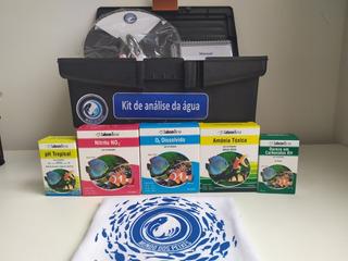Kit Para Análise De Água Para Piscicultura + Disco De Sechhi