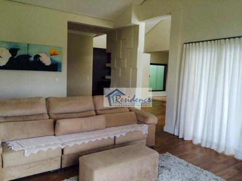 Imagem 1 de 13 de Casa Com 3 Dormitórios À Venda, 254 M² Por R$ 1.300.000,00 - Jardim Esplanada Ii - Indaiatuba/sp - Ca0754
