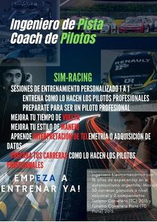 Entrenamiento Piloto Profesional 1 A 1, Simulador, Logitech
