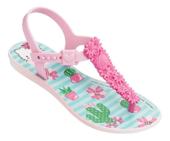 Sandália Frozen Princesas Hello Kitty Grendene Infantil