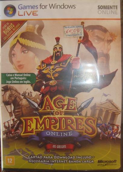 Pc Age Of Empires Online - Os Gregos - Novo - Lacrado - Orig