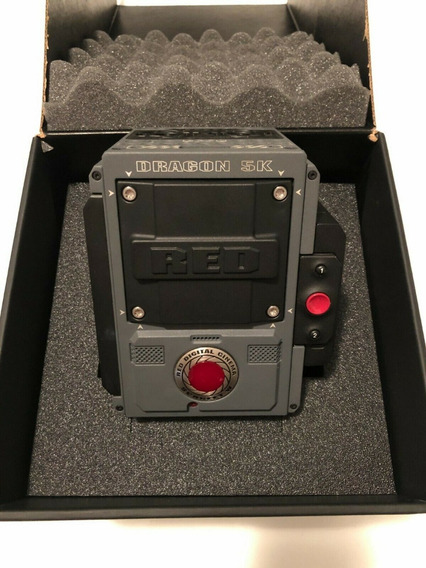 Red Digital Cinema Scarlet W Brain Dragon 5k Sensor (corpo)