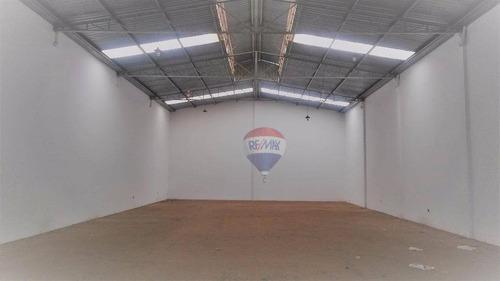 Galpão Para Alugar, 430 M² Por R$ 5.500,00/mês - Vila Paulista - Botucatu/sp - Ga0019