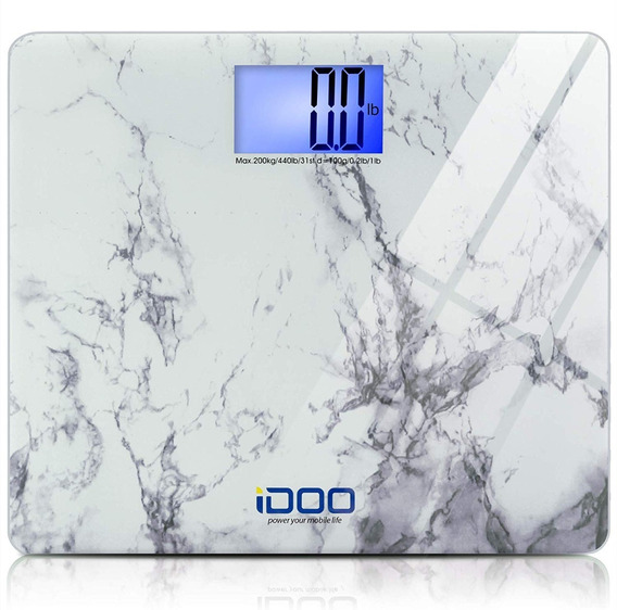 Idoo Digital Bathroom Scale Ultra Wide Heavy Duty