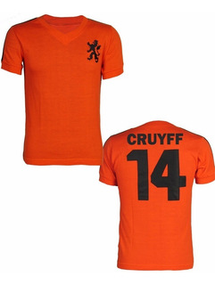 Camisa Retrô Holanda Copa 1974 Cruyff