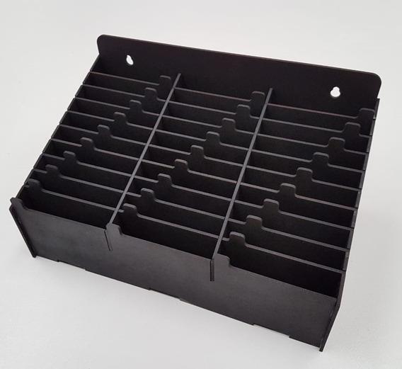 Combo Organizador De Celular E Tablet Preto Black Edition