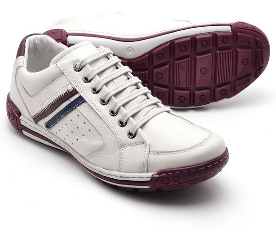 Sapato Masculino De Franca-sp Gelo Bordo Super Oferta