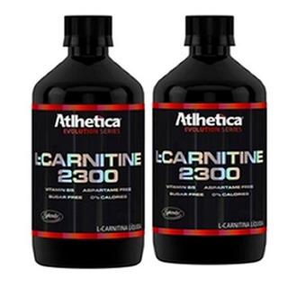 Combo 2x - L-carnitina 2300 480ml - Evolution - Atlhetica