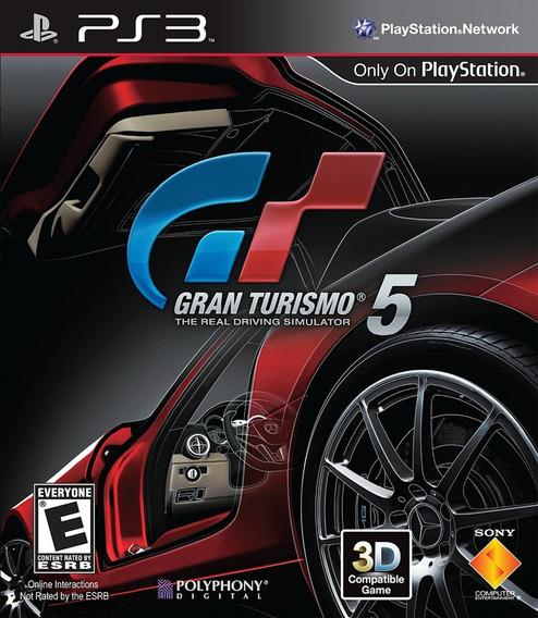 Jogo Original Ps3 Gran Turismo 5