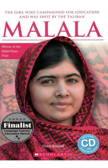 Malala (biography) With Audio Cd And Online Resources -ele