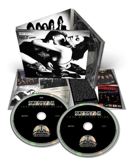 Scorpions - Love At First Sting 50th Anniv [2cd+dvd] Deluxe