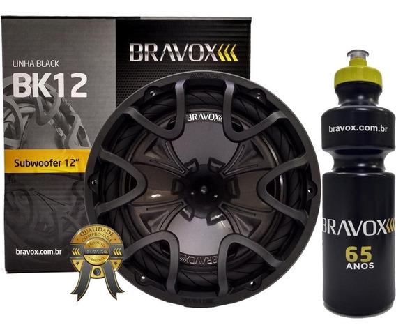 Alto Falante Bk12 D4 Subwoofer 12 350w Rms Bravox + Brinde