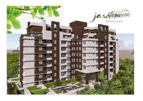 Apartamento Duplex Com 3 Dormitórios À Venda, 105 M² Por R$ 1.324.647,37 - Rebouças - Curitiba/pr - Ad0018